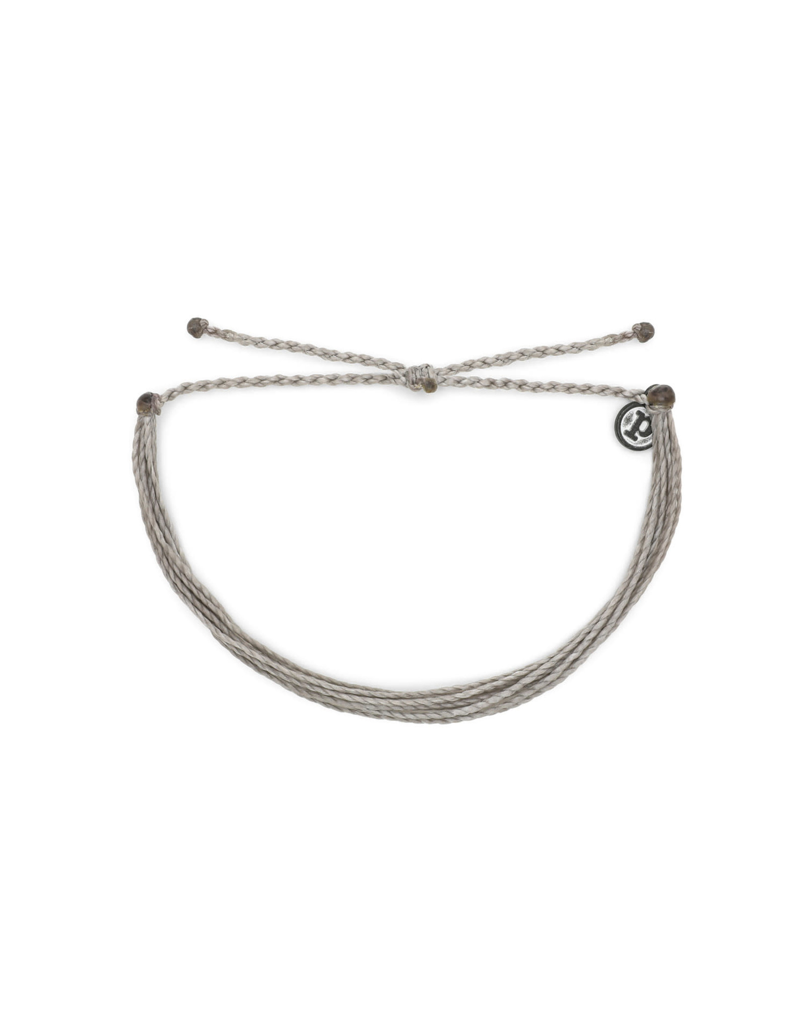 PURA VIDA BRACELETS BRIGHT SOLID SILVER LIGHT