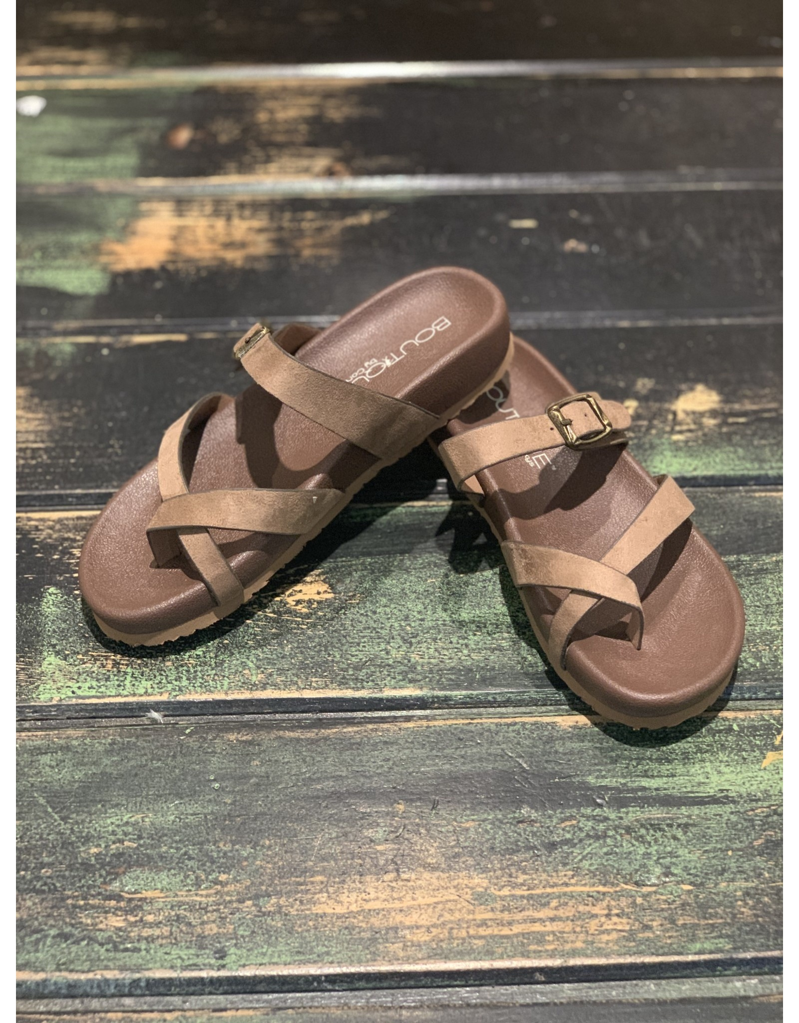 TAUPE HEAVENLY SANDAL