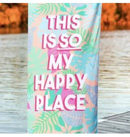 JADELYNN BROOKE HAPPY PLACE BEACH TOWEL