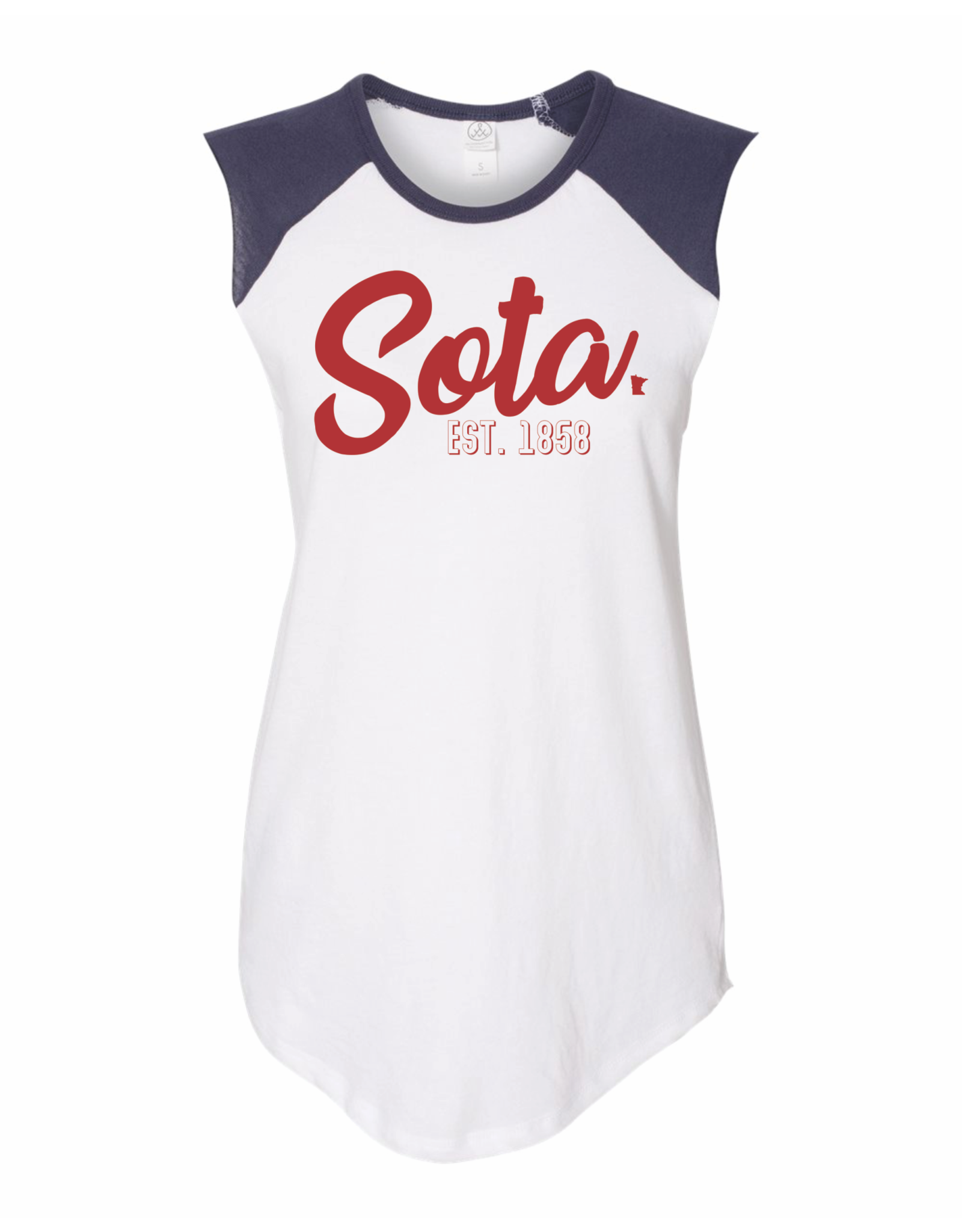 MINNESOTA USA BASEBALL TANK