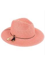 CC CORAL BRAID PAPER HAT