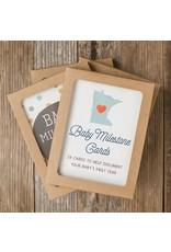 SWEETPEA AND CO MINNESOTA BABY MILESTONE CARDS