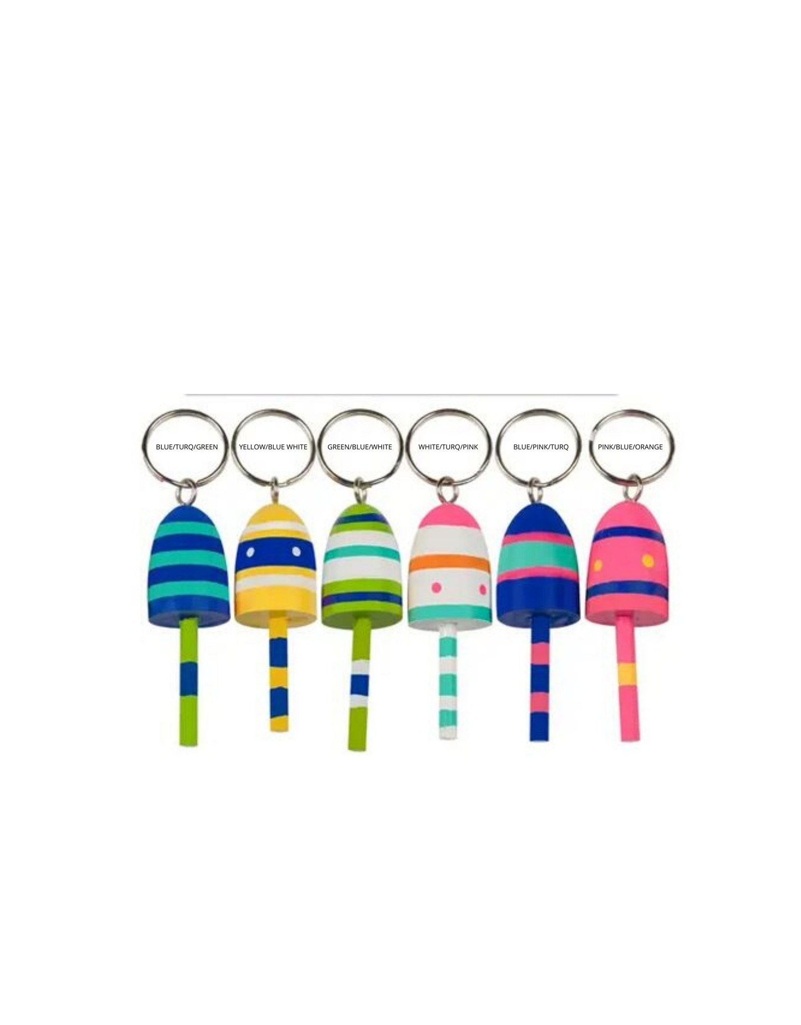 PARADE STREET PRODUCTS BUOY KEY CHAIN