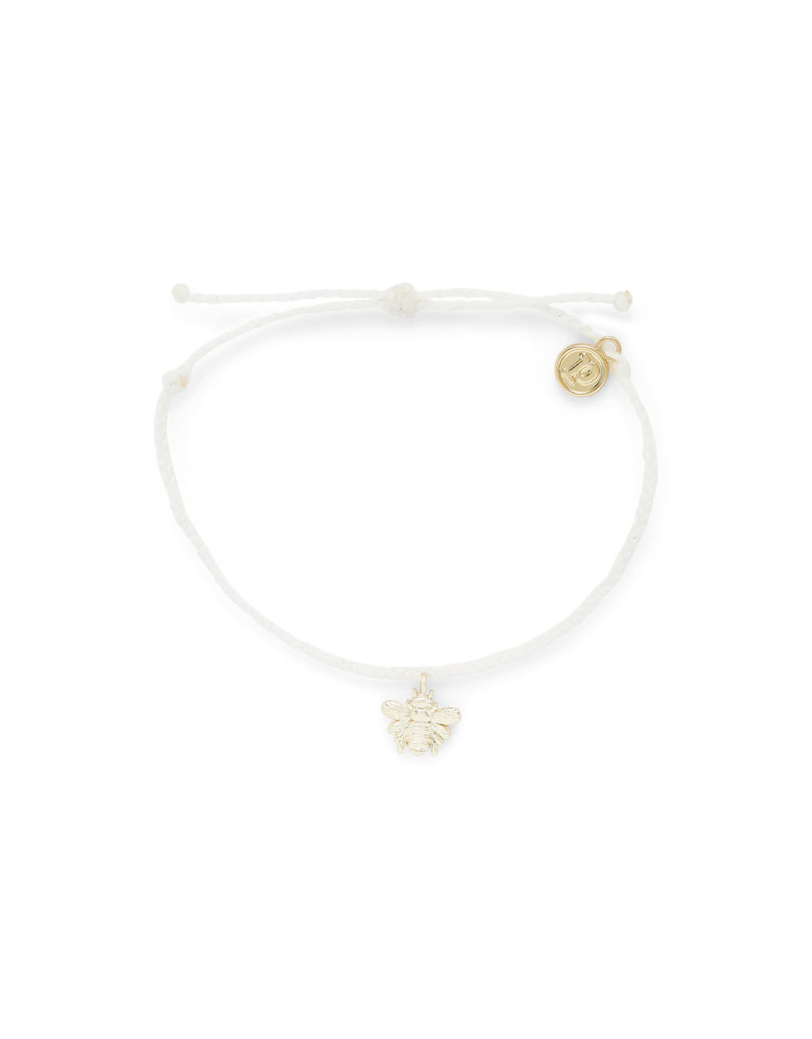 PURA VIDA BRACELET GOLD BEE NATURAL