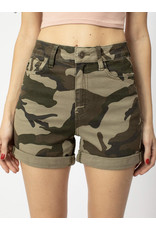 KANCAN OLIVE CAMO SHORT KC6316CD