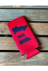 SLIM RED MN KOOZIE