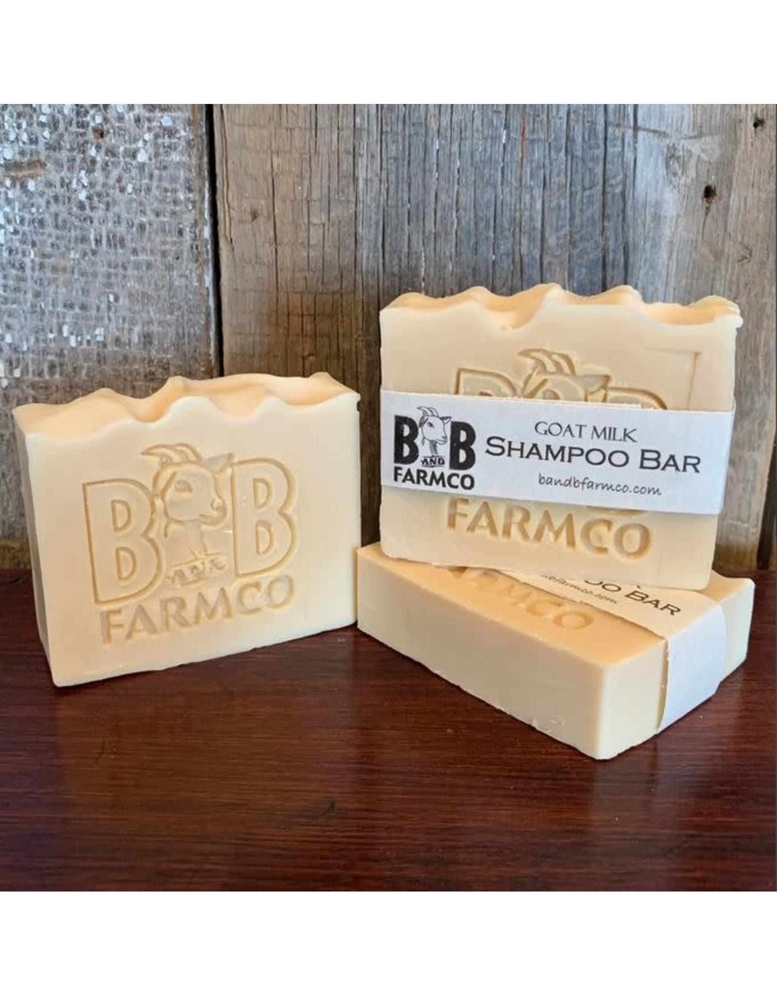 B&B FARM CO B&B GOAT MILK SHAMPOO BAR