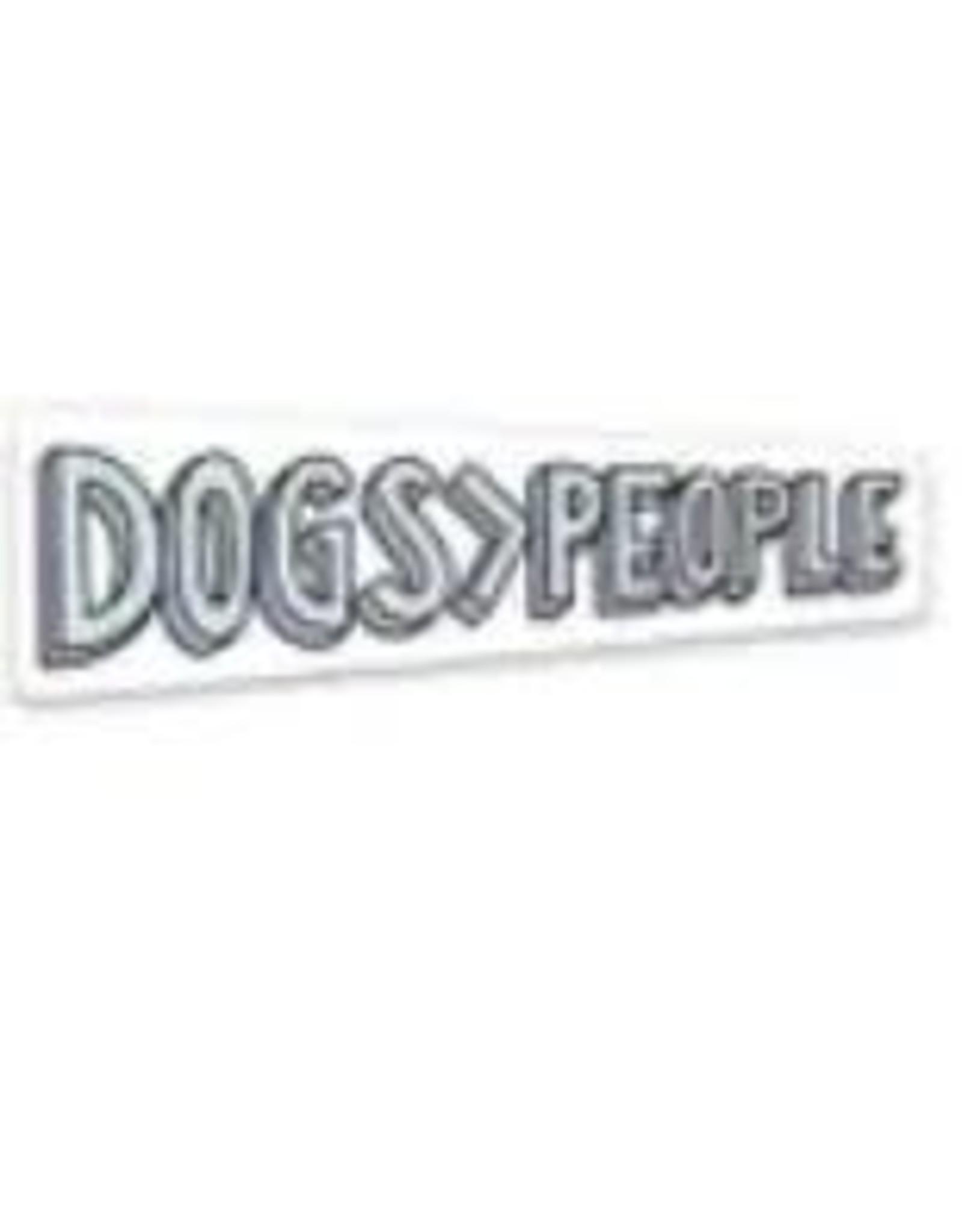 BIG MOODS DOGS PEOPLE STICKER