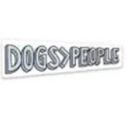 BIG MOODS DOGS PEOPLE STICKER