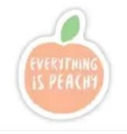 BIG MOODS EVERYTHING IS PEACHY STICKER