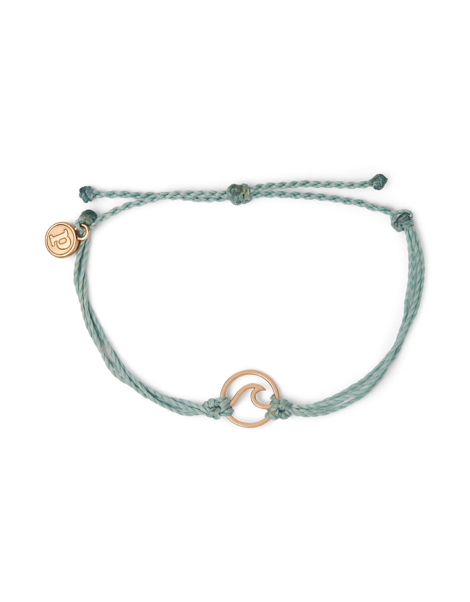 PURA VIDA BRACELET ROSE GOLD WAVE SMOKE