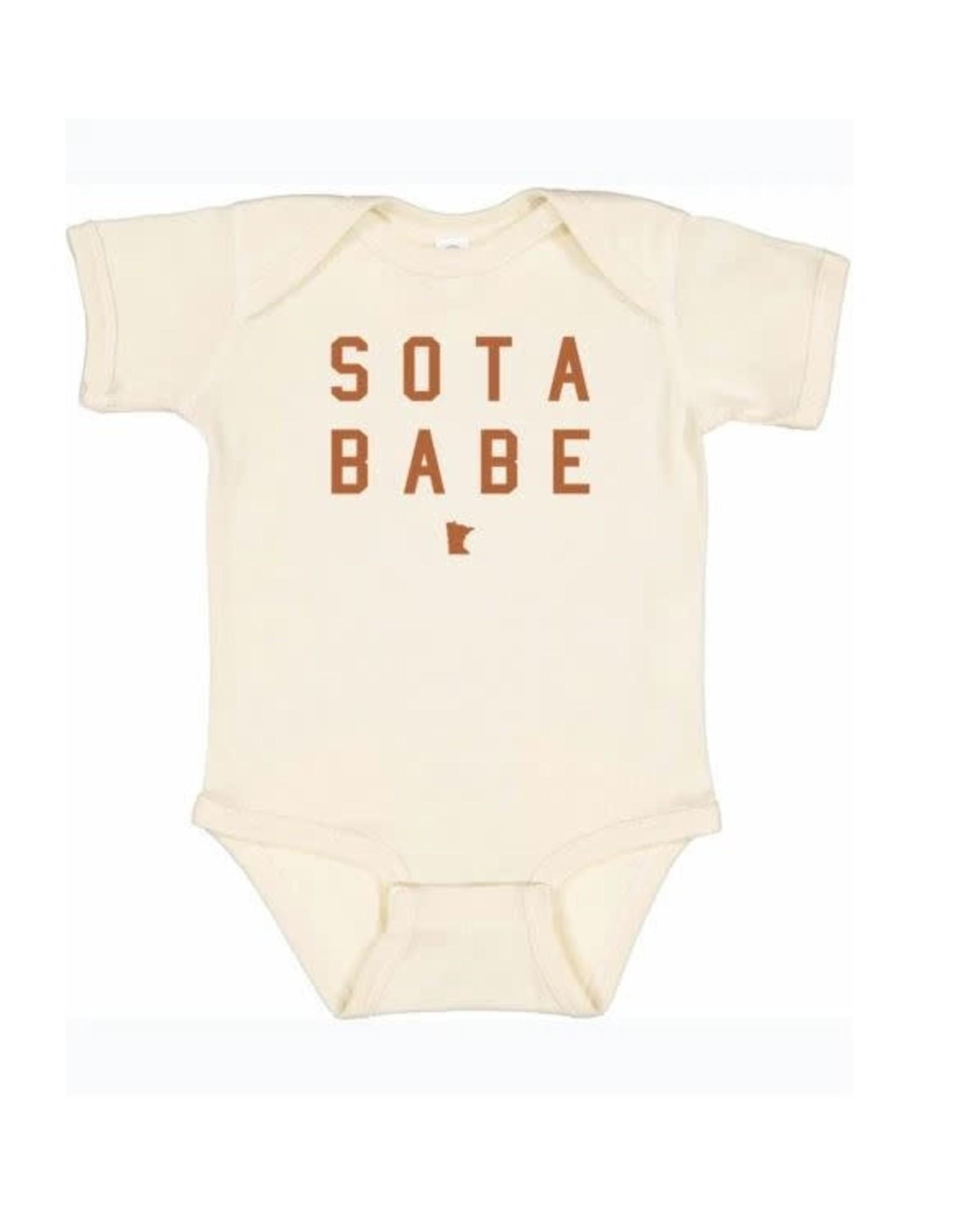 MINNESOTA SOTA BABE ONESIE