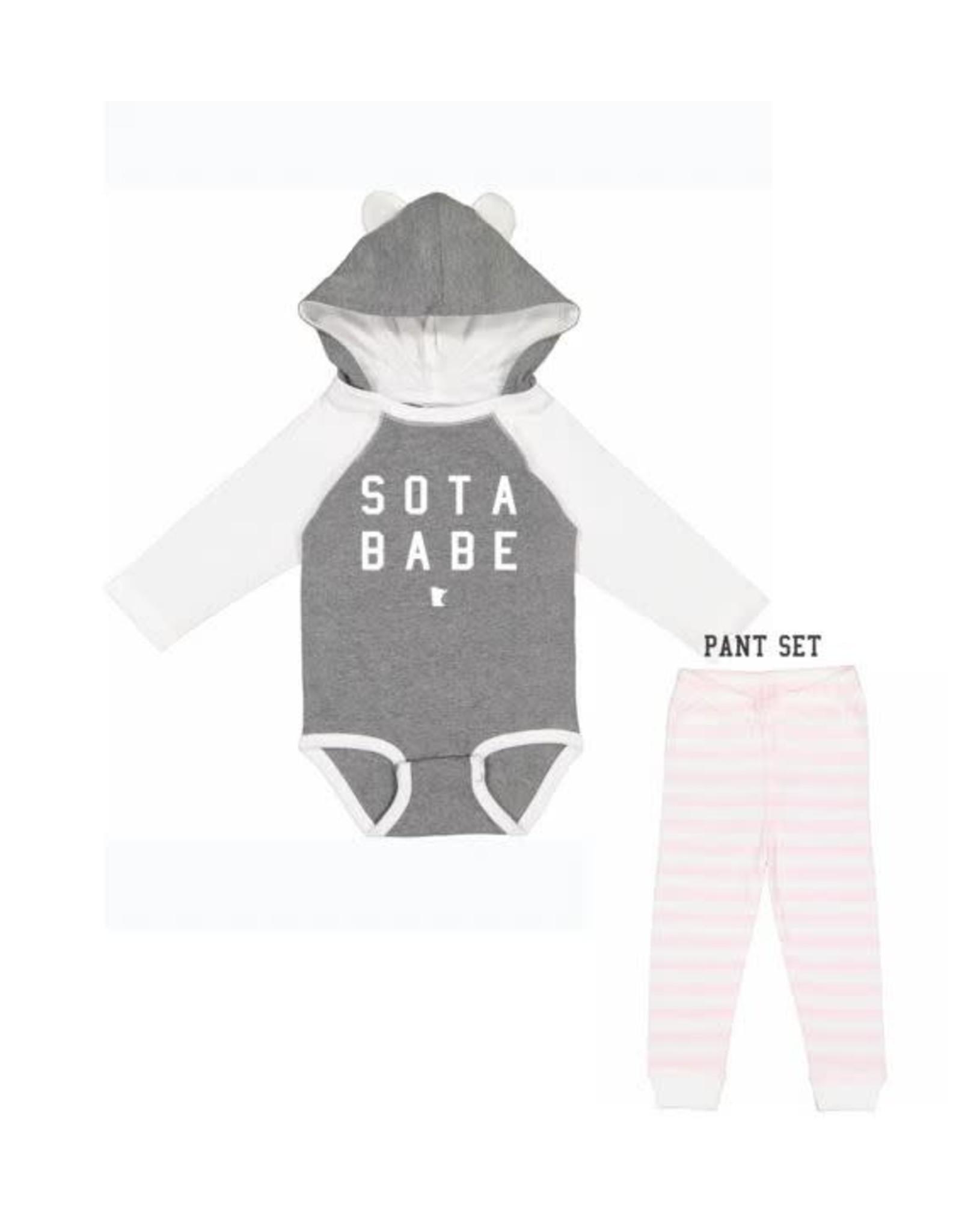 MINNESOTA SOTA BABE LOUNGE SET