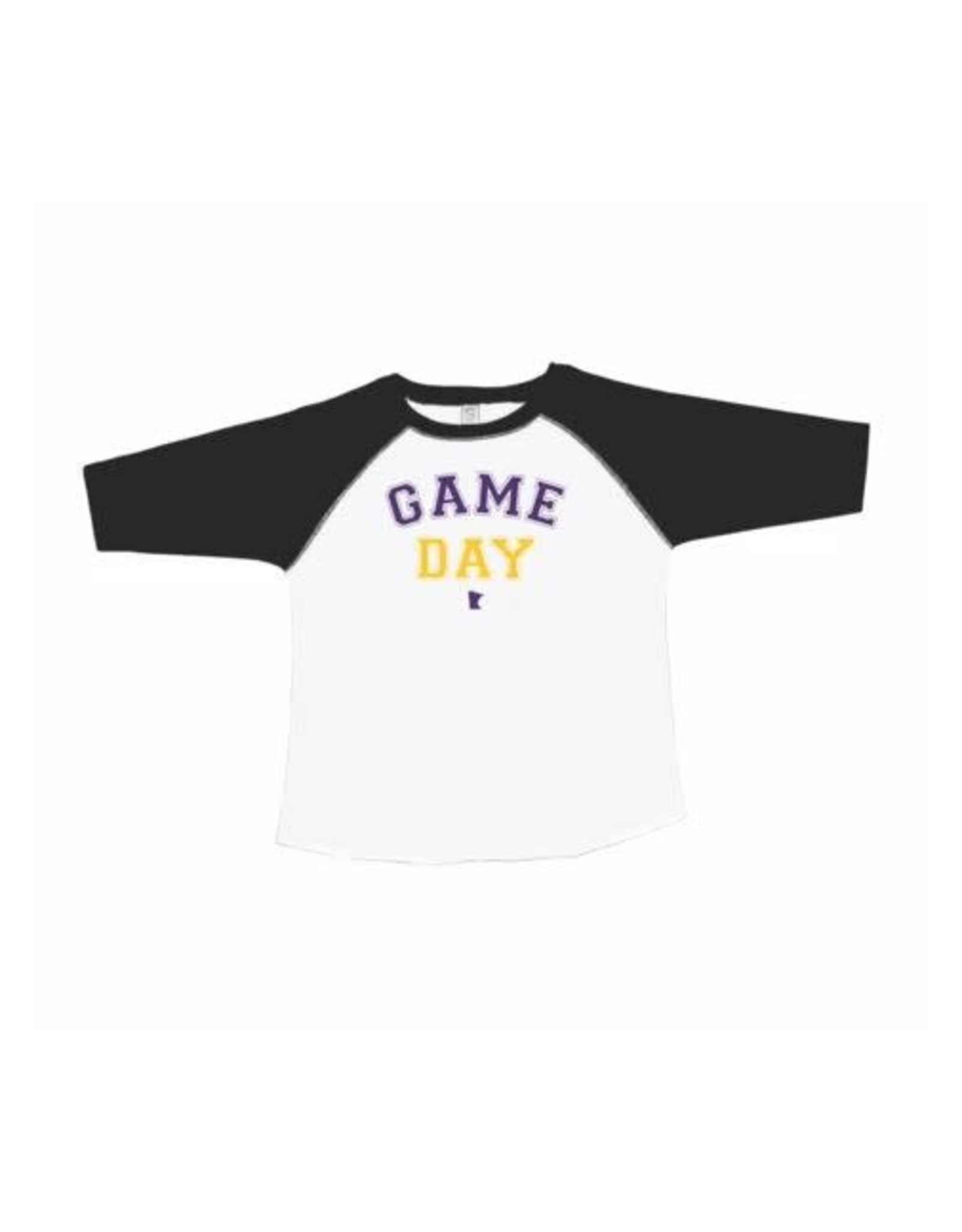 MINNESOTA GAME DAY TODDLER RAGLAN