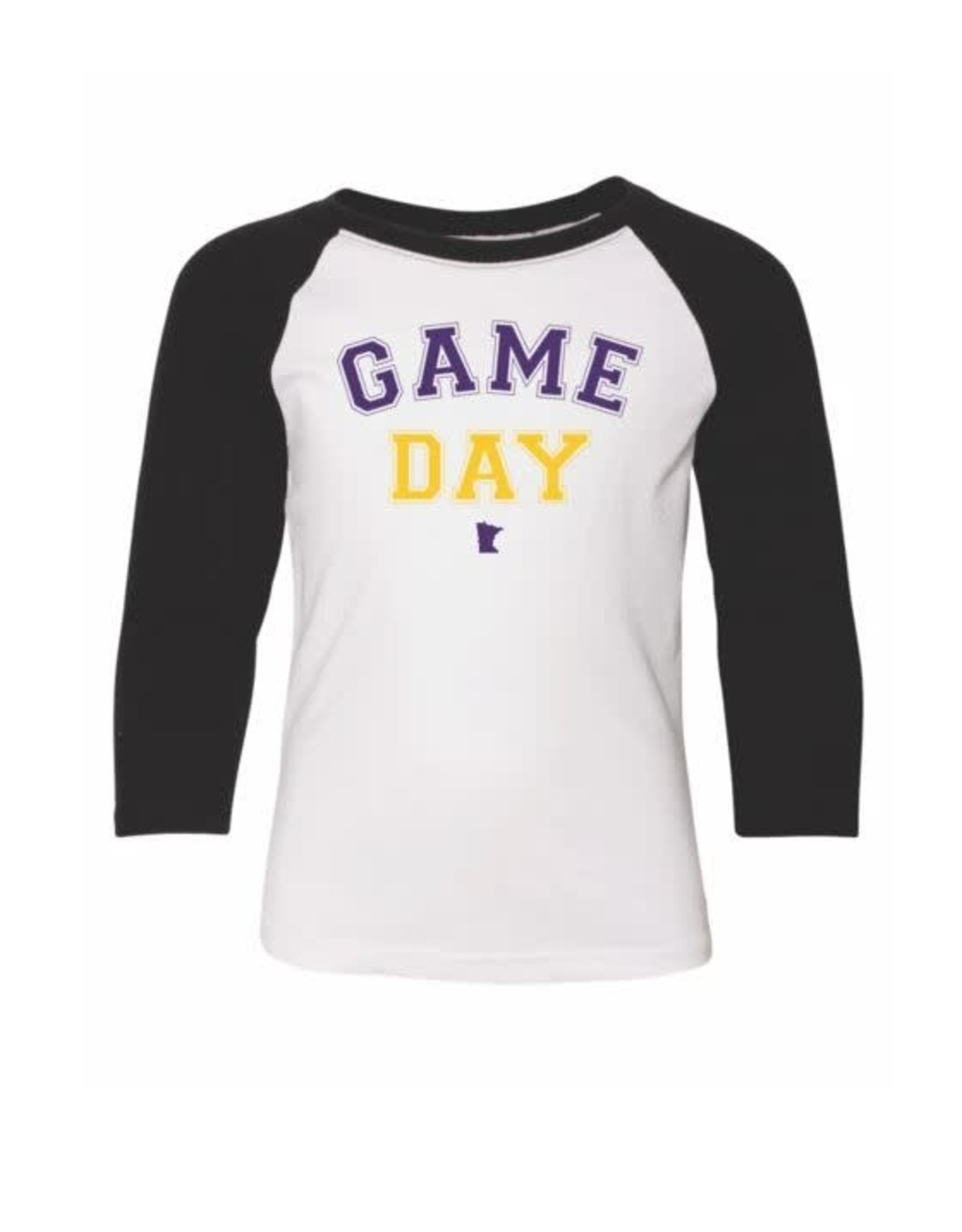 MINNESOTA GAME DAY YOUTH RAGLAN