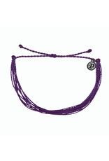PURA VIDA BRACELET BRIGHT SOLID PURPLE