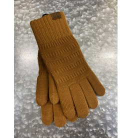 GLOVES - GOLDEN CAMEL KNIT GL9018