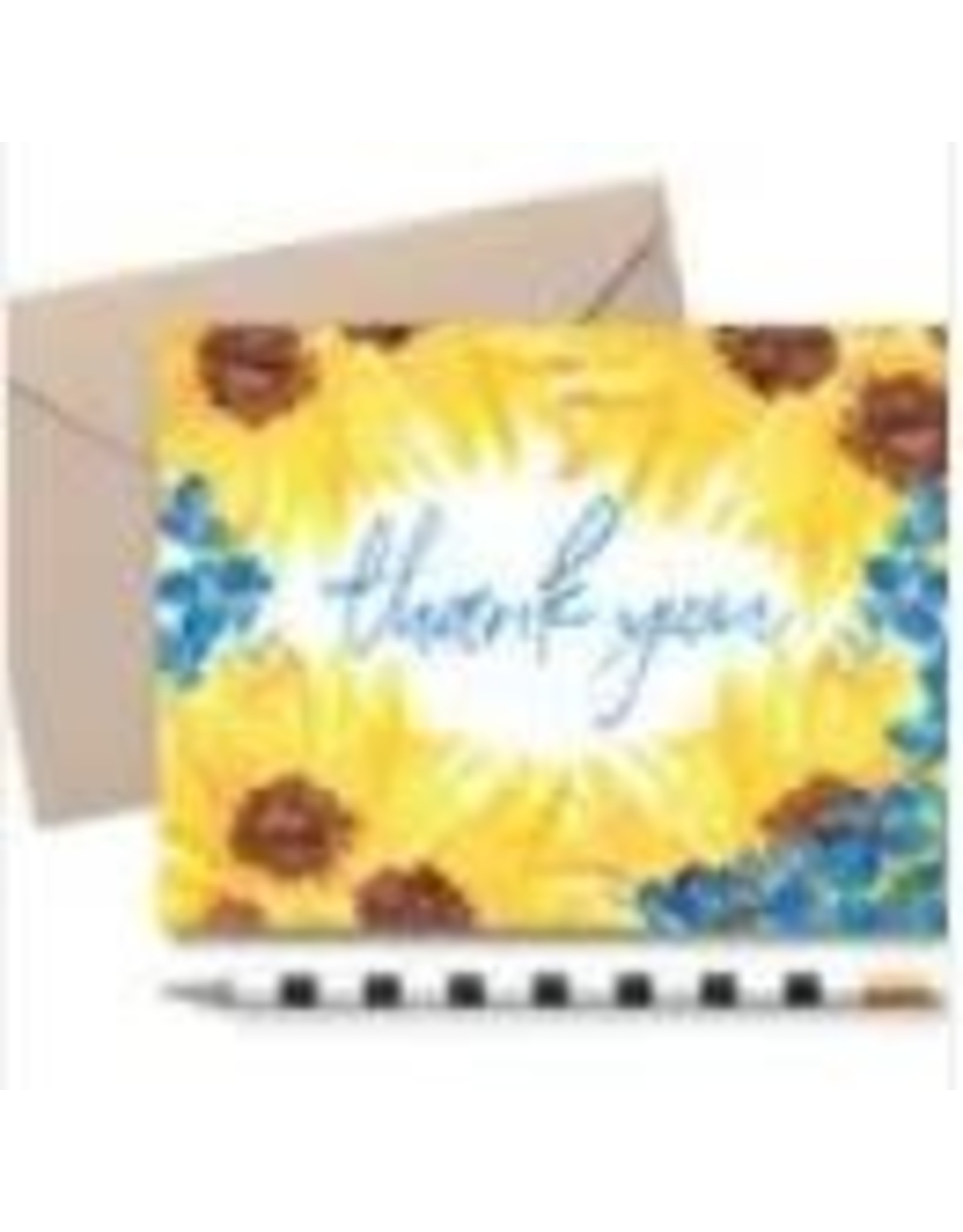 THE FARMING ARTIST SUNFLOWER NOTE CARD / NOTE PAD SET