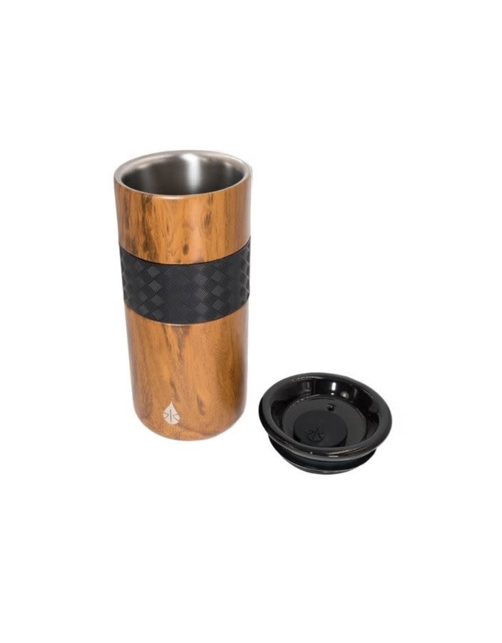 ELEMENTAL 16 OZ STAINLESS STEEL TUMBLER WITH CERAMIC LID