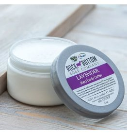 ROCK BOTTOM SOAP CO ROCK BOTTOM SHEA BODY BUTTER -