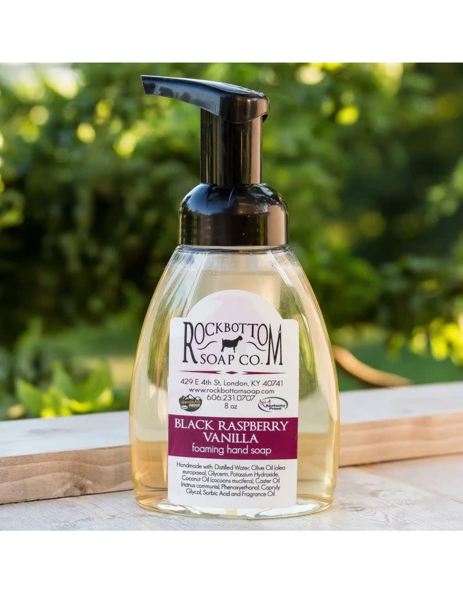 ROCK BOTTOM SOAP CO ROCK BOTTOM FOAMING HAND SOAP -