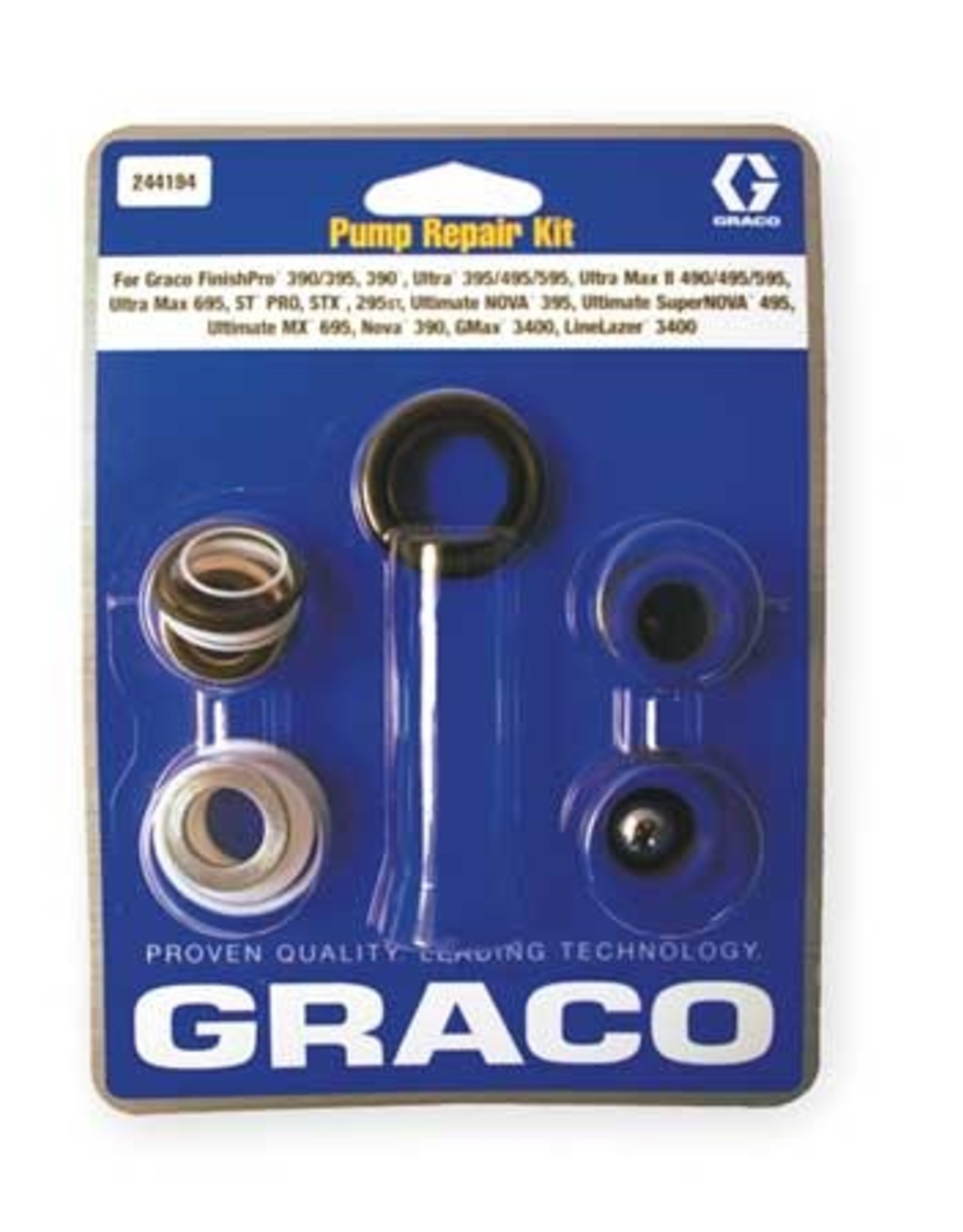 Graco 244194 Superceded By 18B260 Packing Kit