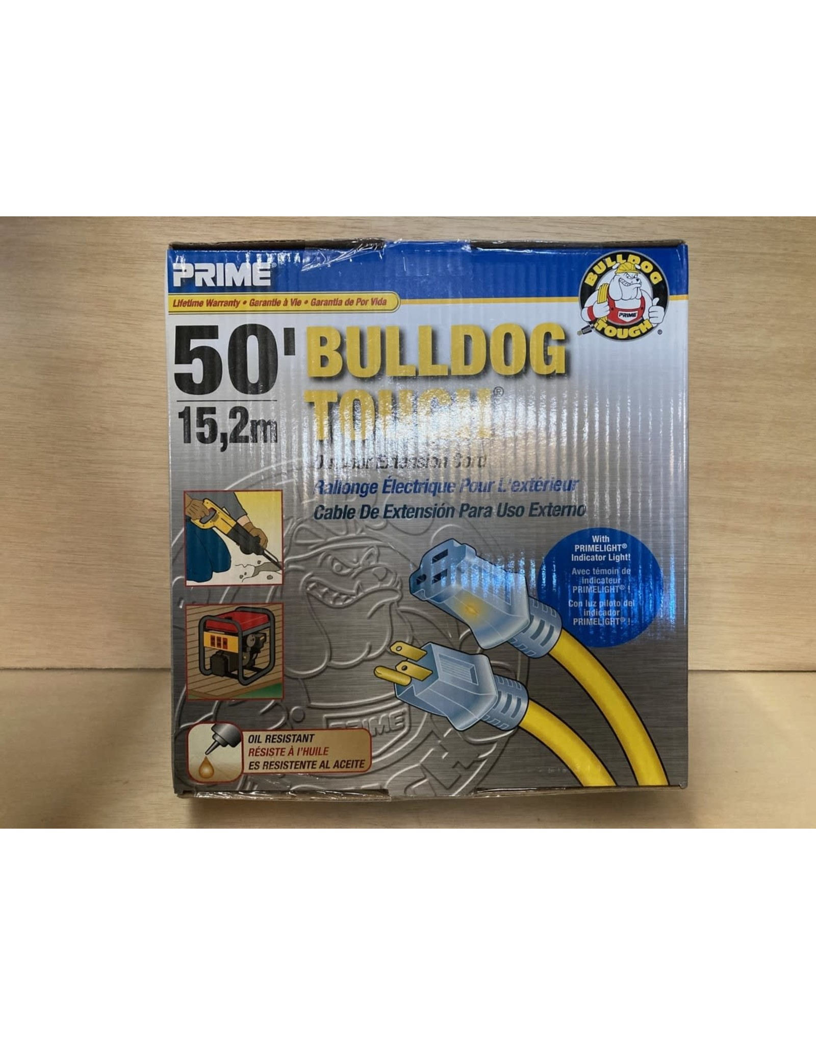 Prime Wire & Cable LT511930 Extension Cord 50 Ft 10 / 3