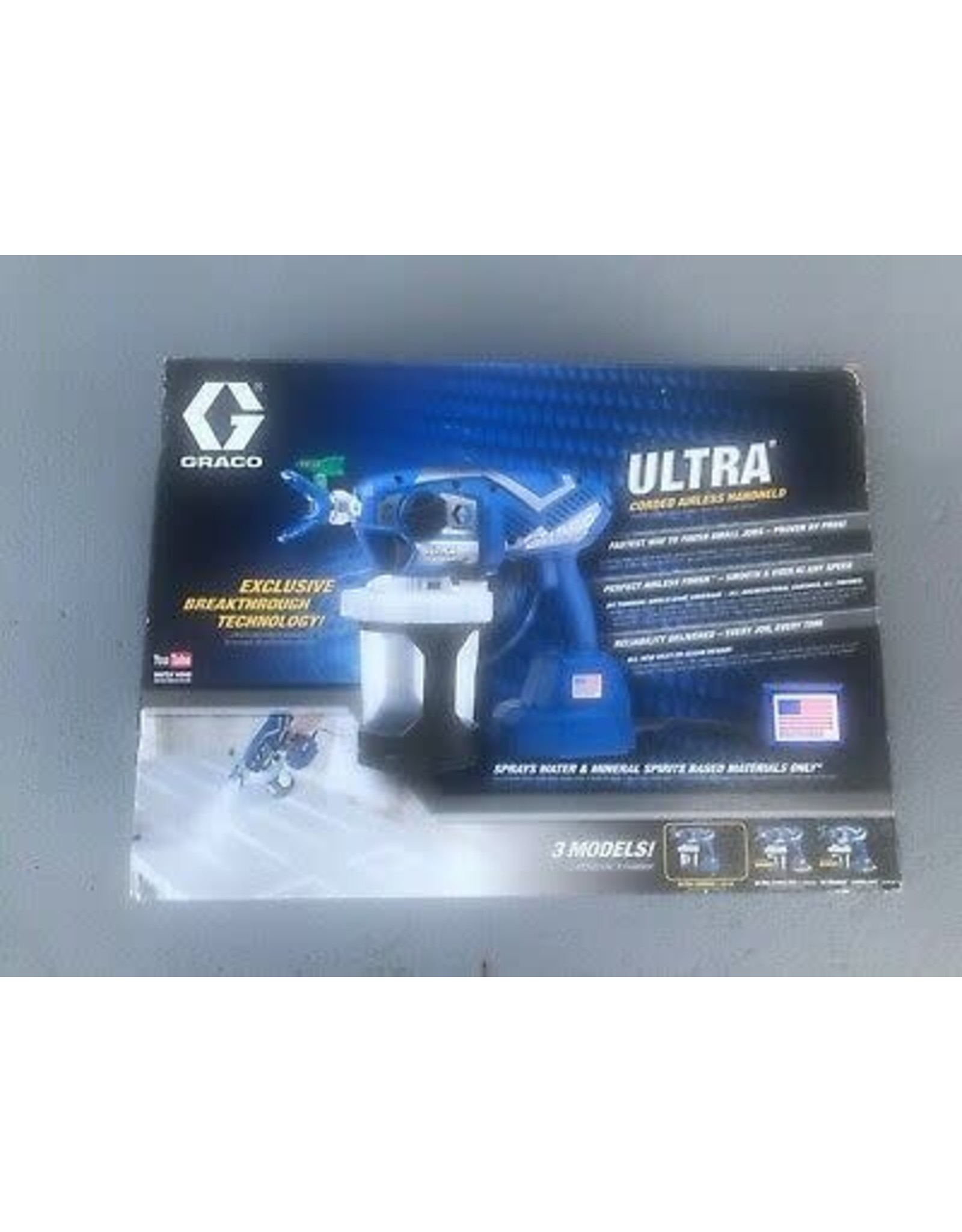 Graco 17M359 Ultra hand Held Corded 120 Volt