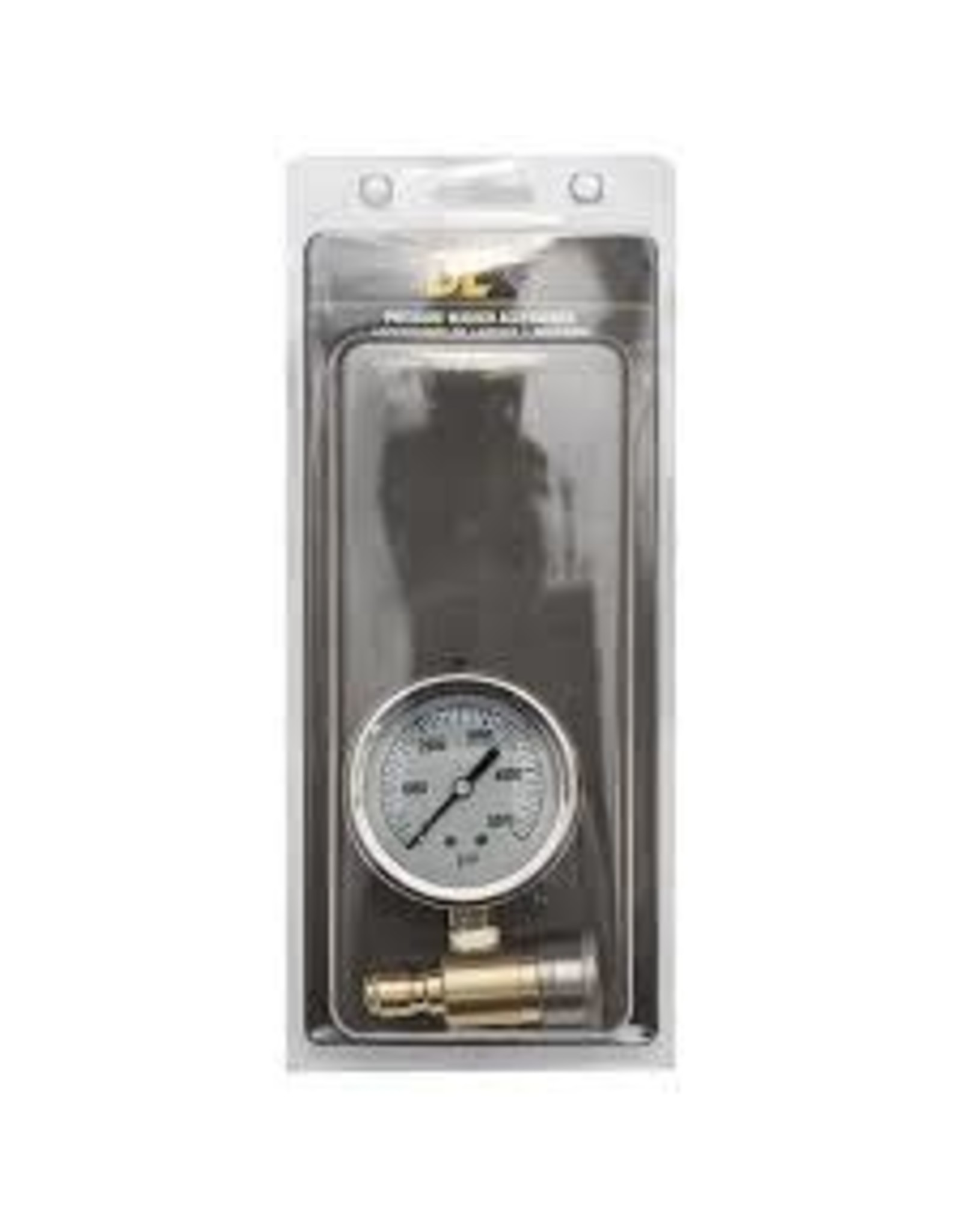"BE 85.305.001 Pressure Gauge Kit 2.5"" Glycerin Filled"