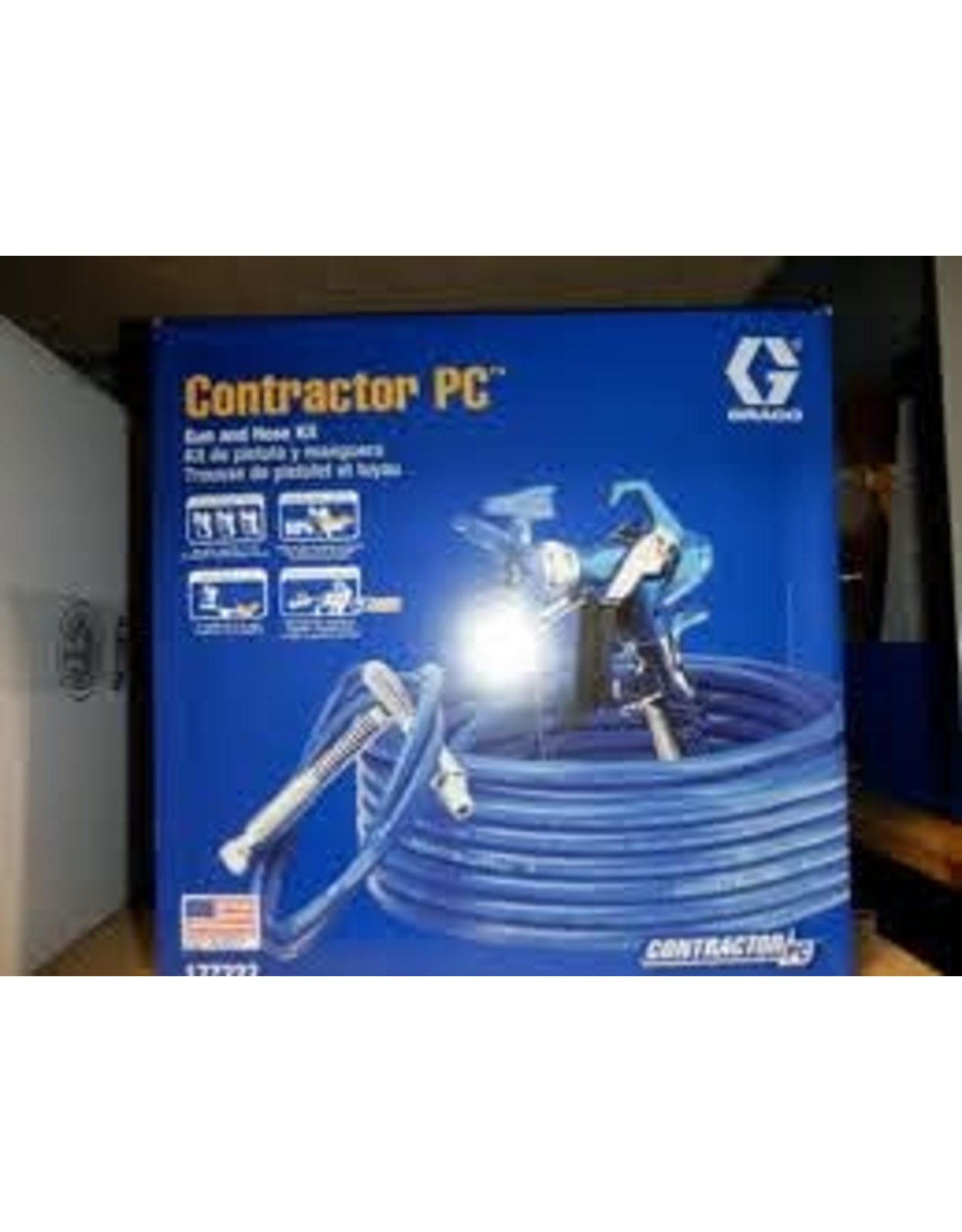 Graco 17Z222 CONTR PC GUN/hOSE,  8 PC