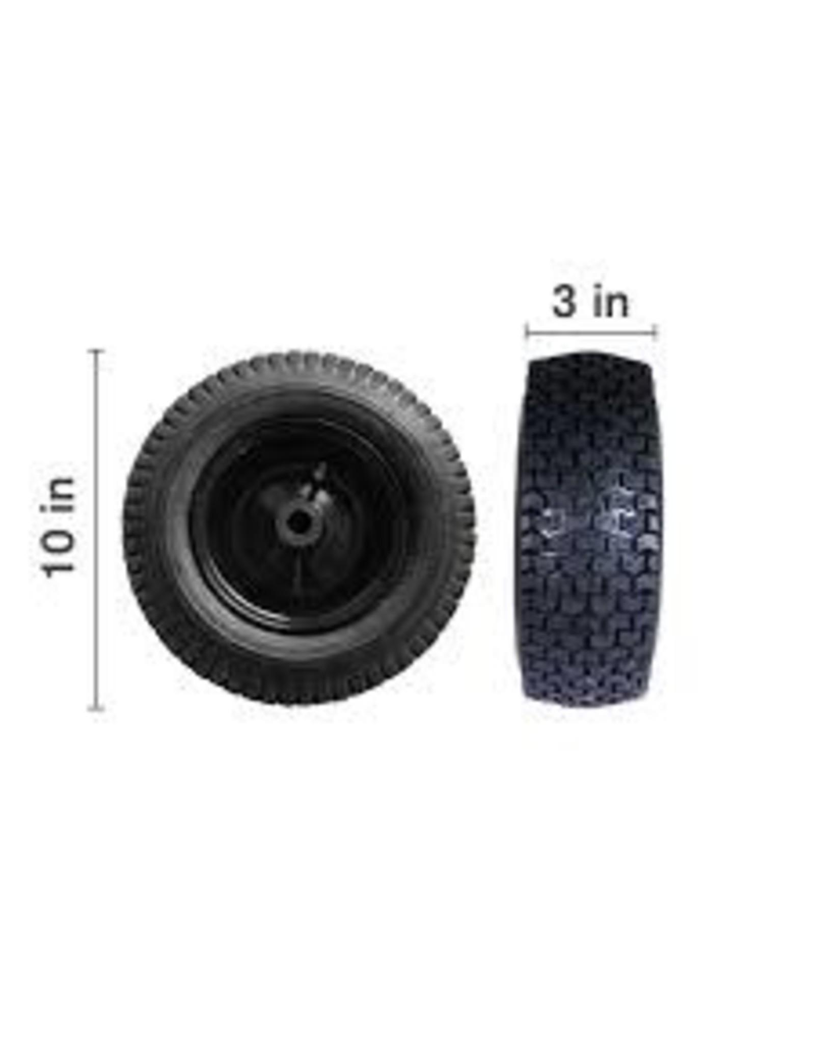 """BE 85.660.004BF 10"""" Wheel W / Foam Filled Tire"""