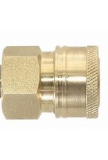 "BE 85.300.102 1/4"" QC FNPT Brass Coupler"