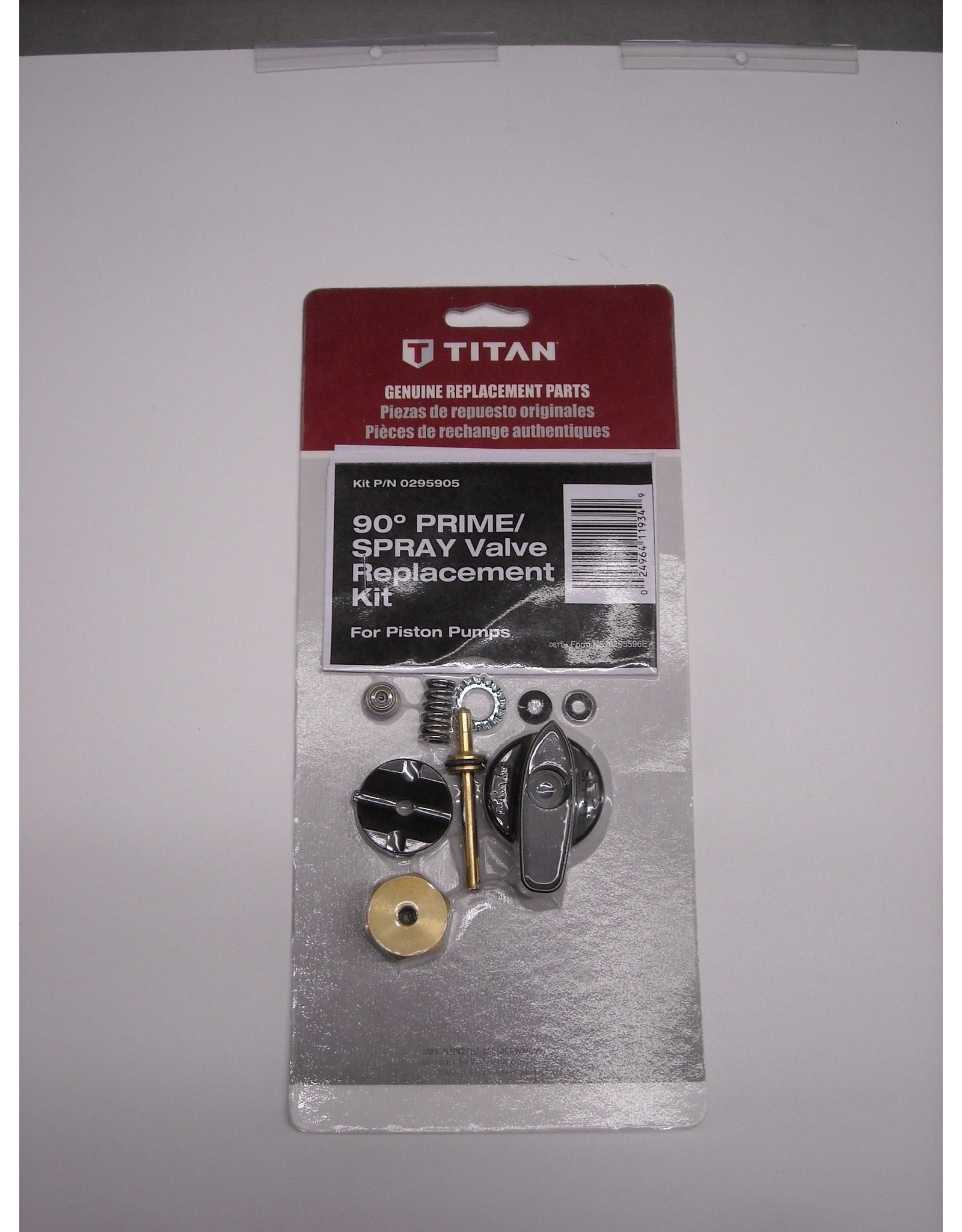 Titan 0295905 Titan & SprayTech Prime Valve