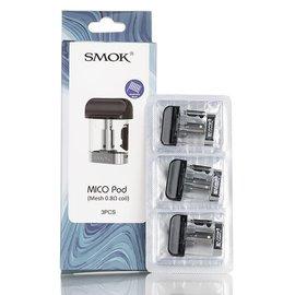 SMOK SMOK MICO POD 0.8 ohm mesh - 3pk