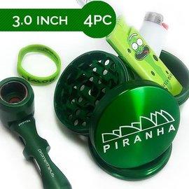 """PIRANHA 3"""" 4-PC Grinder"""