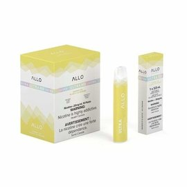 Ultra Allo Ultra Allo Disposable 800 puff - Banana ice 50 mg