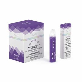 Ultra Allo Ultra Allo Disposable 800 puff - Grape ice 50 mg