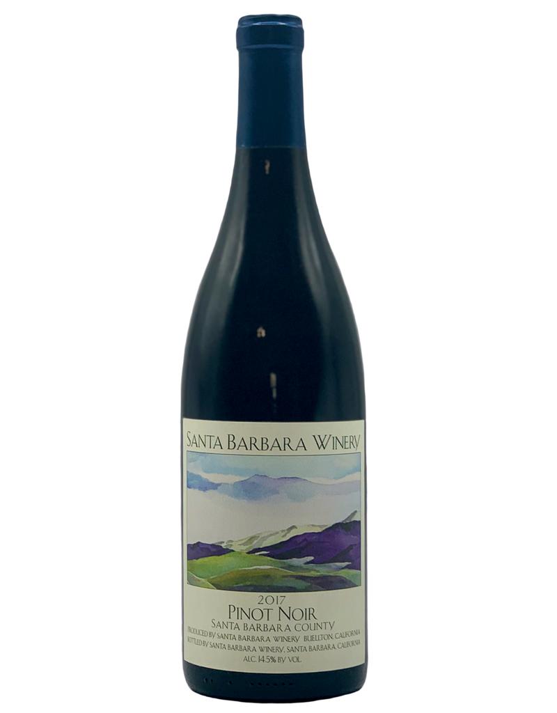 Santa Barbara Winery Pinot Noir Santa Barbara County 2016