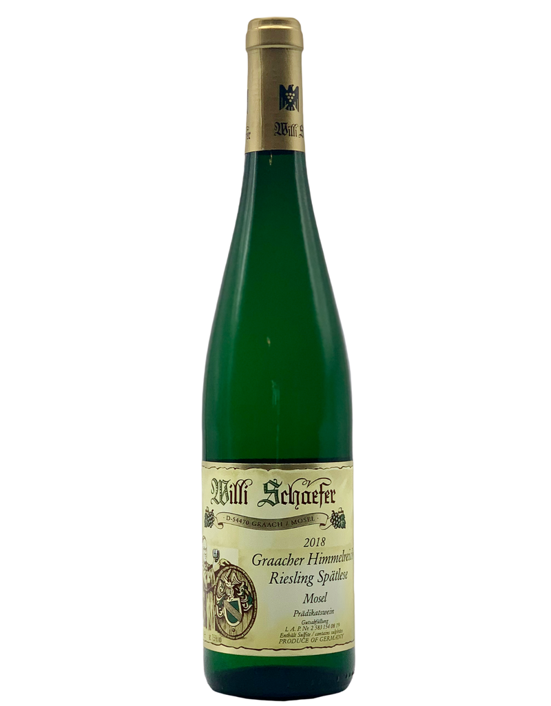 Willi Schaefer Riesling Graacher Himmelreich Spatlese 2018
