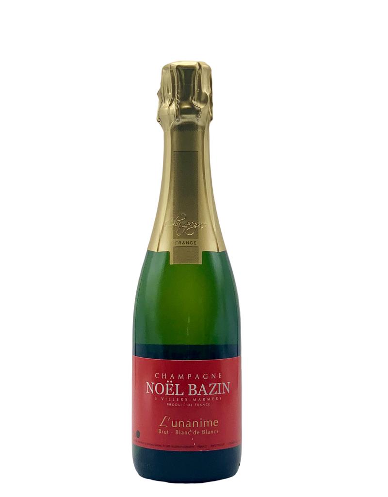 Noël Bazin Champagne Blanc de Blancs Brut L'Unanime 375ML