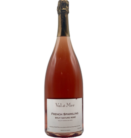 Val de Mer French Sparkling Brut Nature Rosé 1.5ML