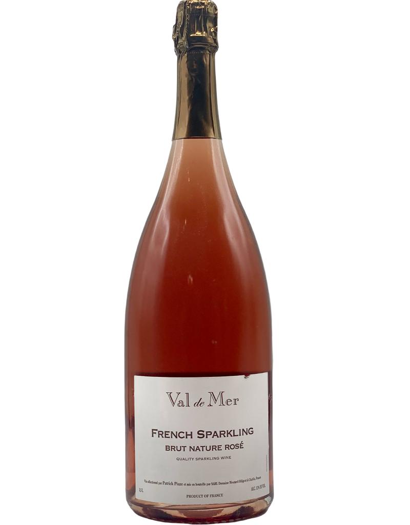 Val de Mer French Sparkling Brut Nature Rosé 1.5ML NV