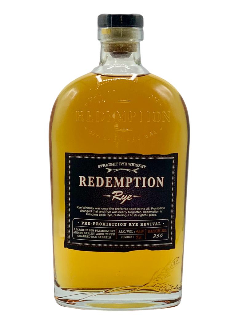 Redemption Rye Whiskey 750ML
