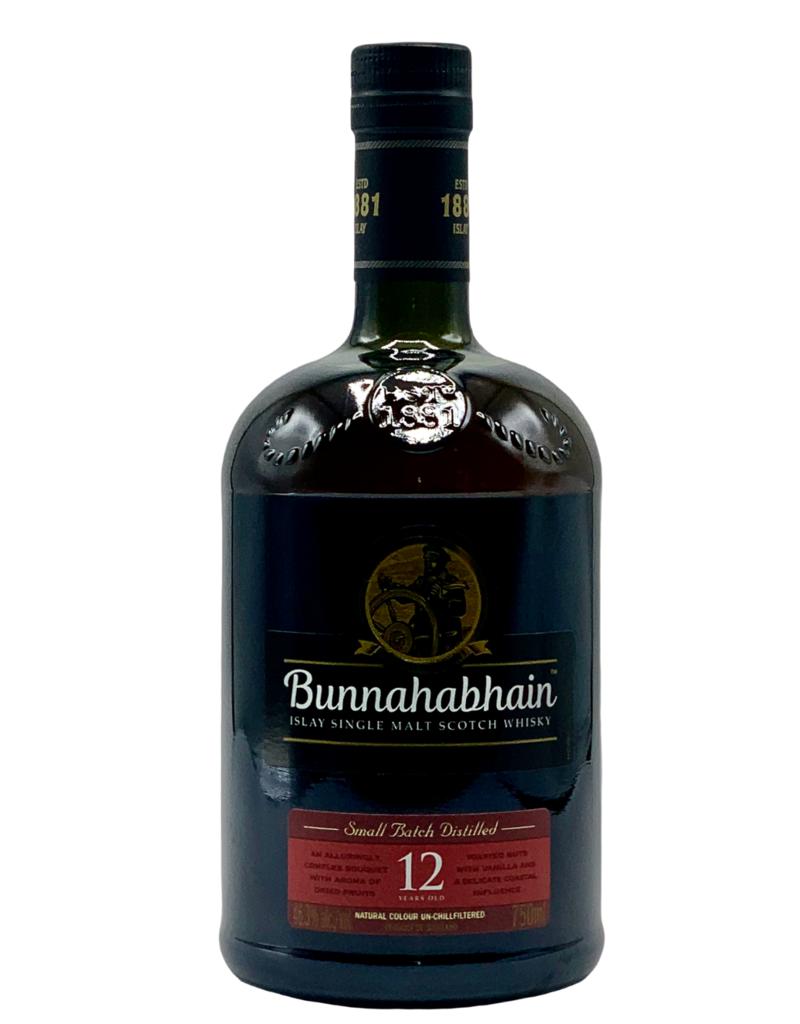 Bunnahabhain 12 Year Old Scotch