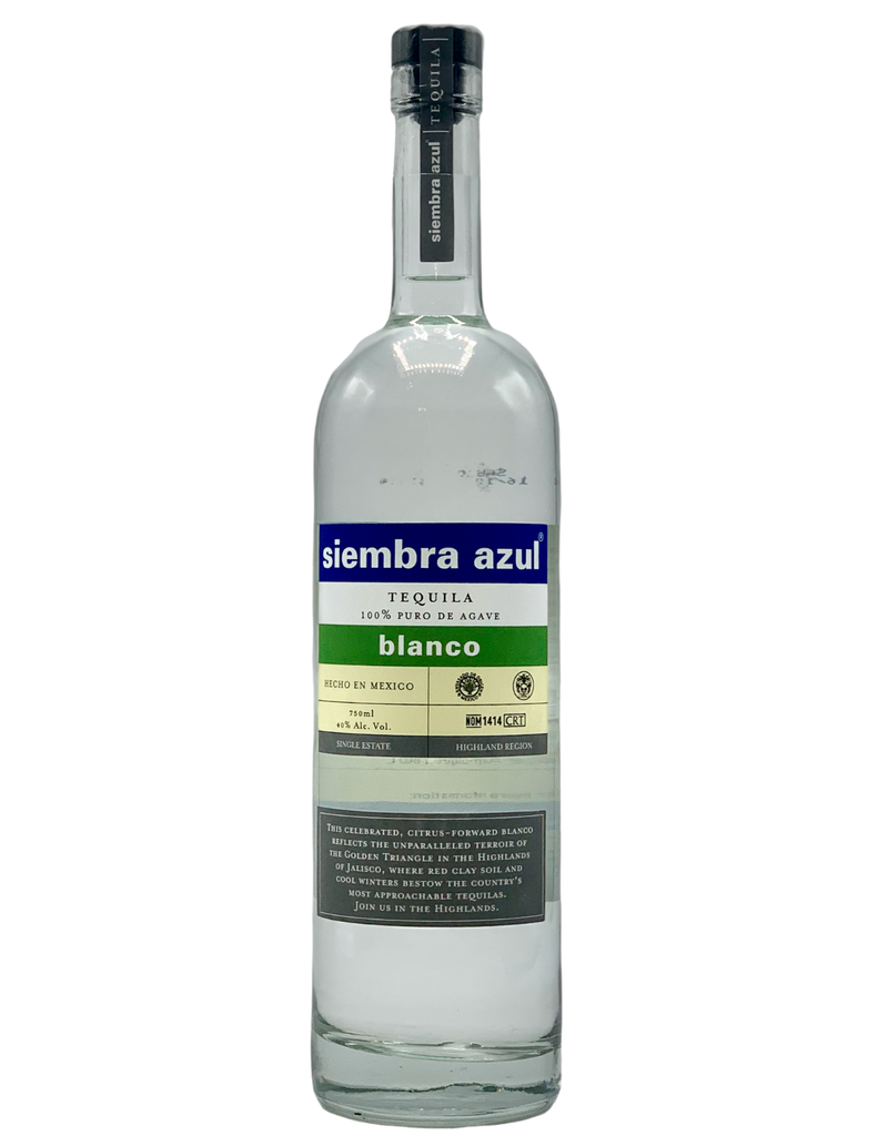 Siembra Azul Blanco Tequila