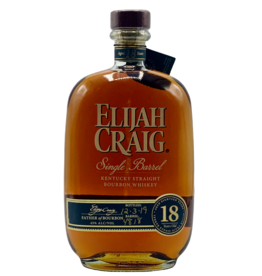 Elijah Craig Bourbon 18 Year Single Barrel