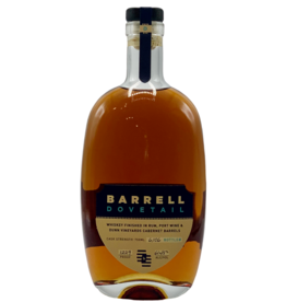 Barrell Craft Spirits Cask Strength Dovetail Whiskey 122.9 Proof