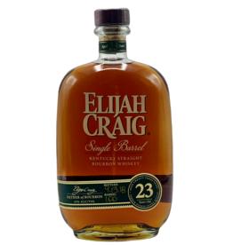 Elijah Craig 23 Year Old Single Barrel Bourbon Whiskey