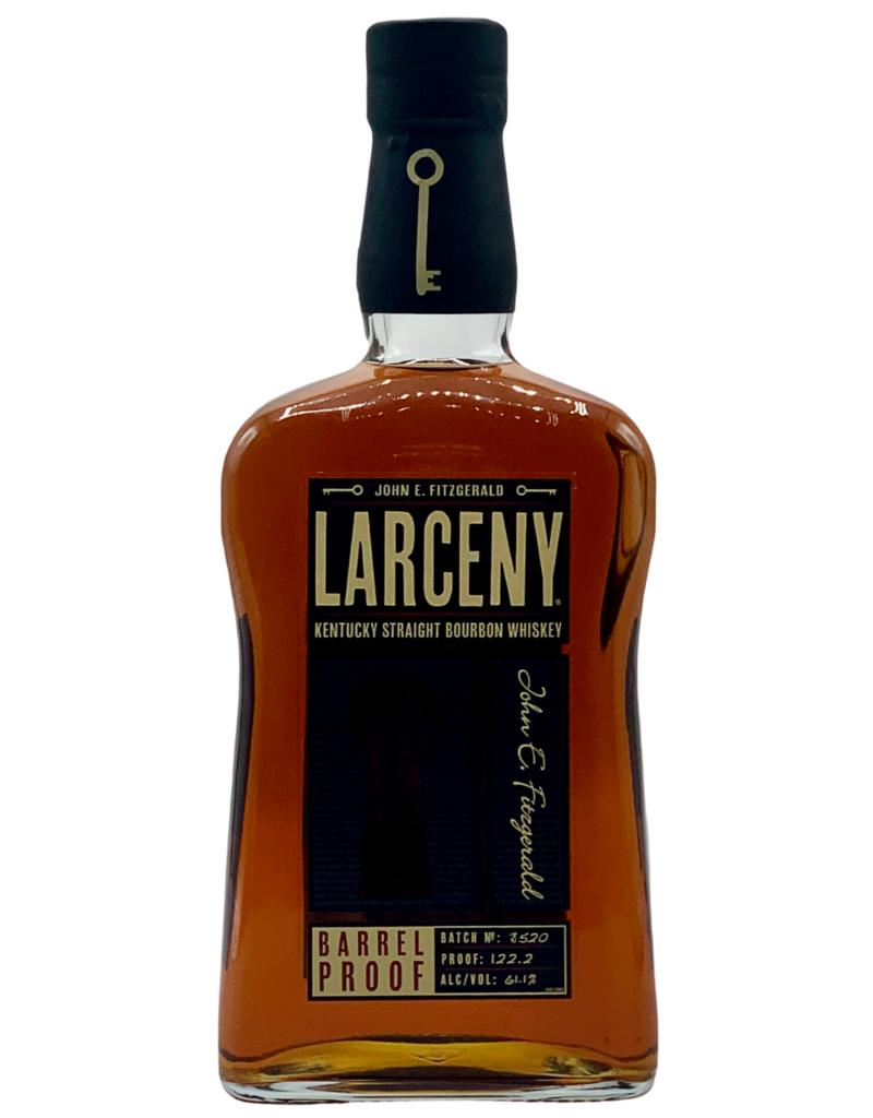 Larceny Barrel Proof Kentucky Straight Bourbon Whiskey John E. Fitzgerald