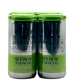 Greenhook Gin & Tonic 4 Pack